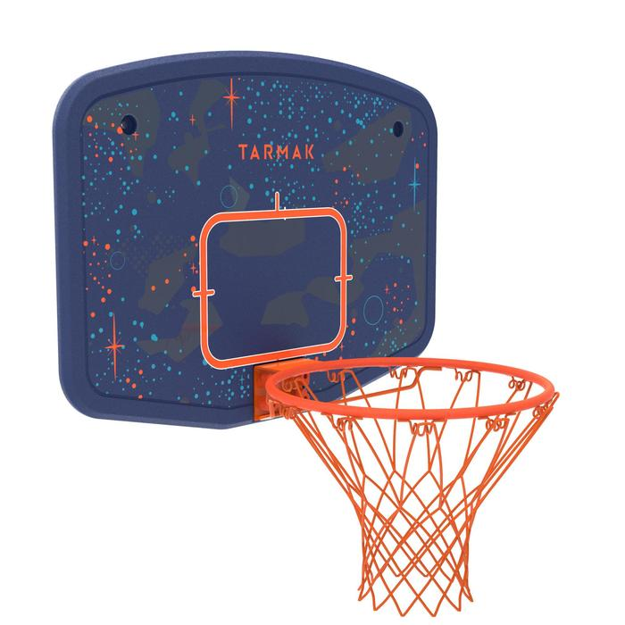 Panneau de basket B200 EASY bleu espace à fixer au mur. Enfant jusqu'à 10 ans. - 1344495