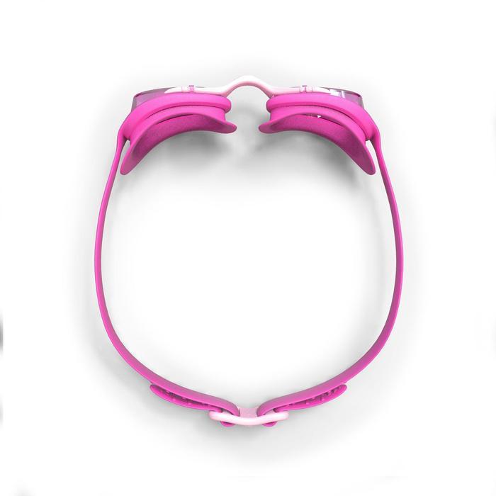 Zwembril 100 X-Base maat S roze