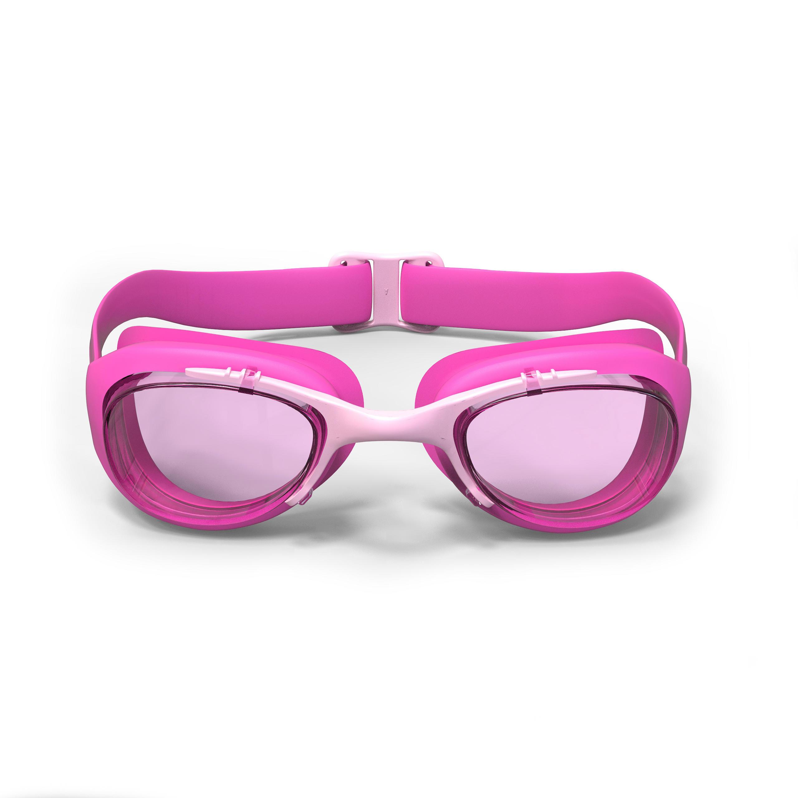 Lunettes de natation XBASE rose Taille P