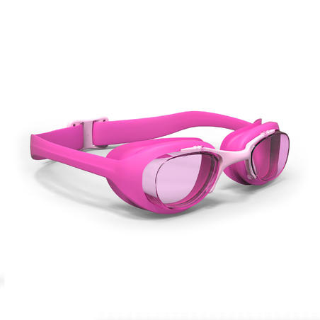 SWIMMING GOGGLES XBASE S CLEAR LENSES - PINK