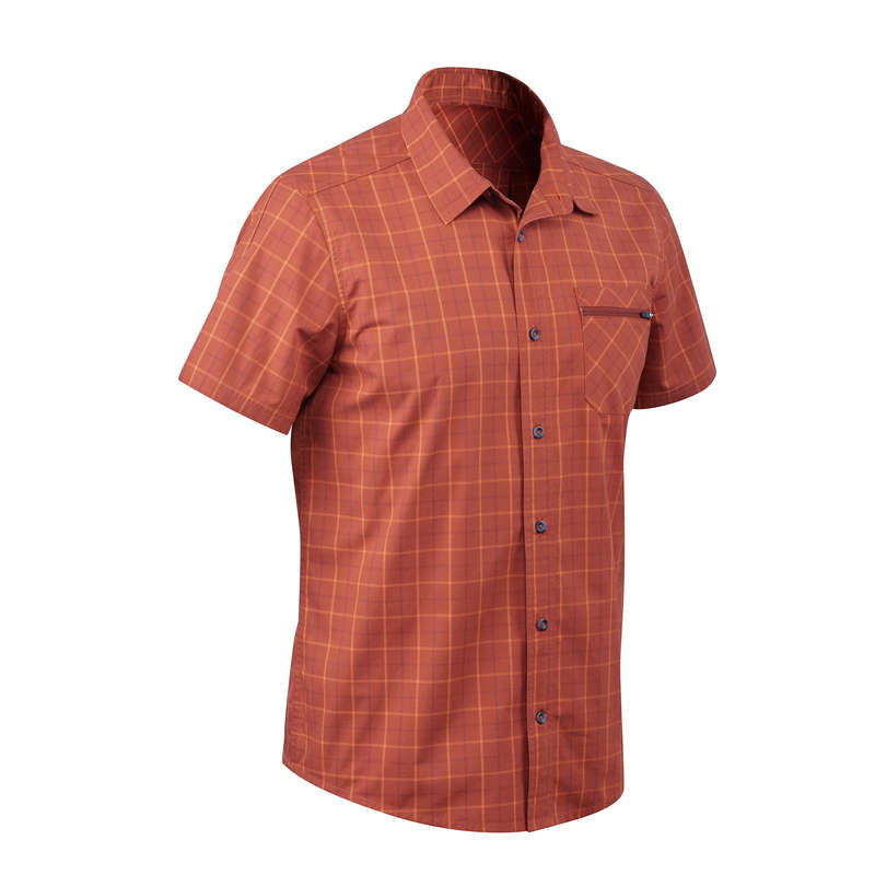 MEN APPAREL OUTFIT TRAVEL TREK - Travel 50 M Shirt - Orange