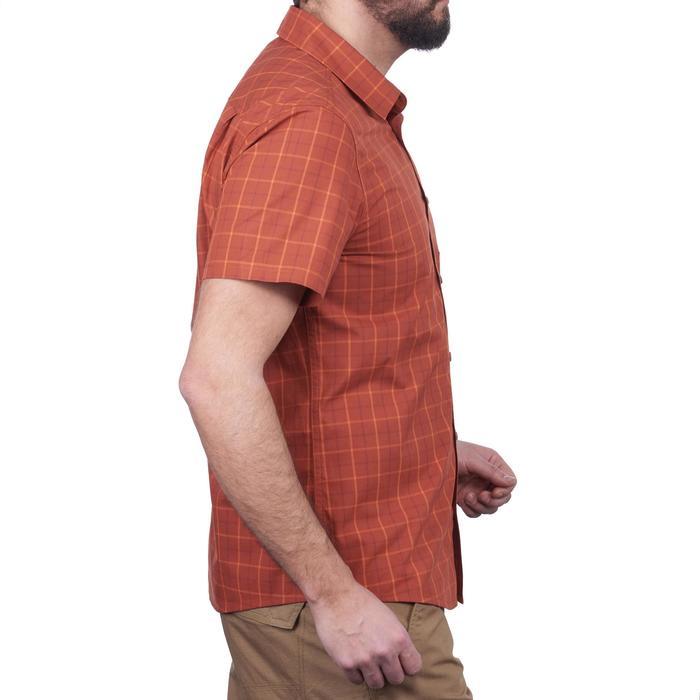 Camisa de manga corta TRAVEL 50 hombre Naranja