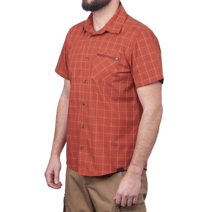 Hemd met korte mouwen Travel 50 heren oranje