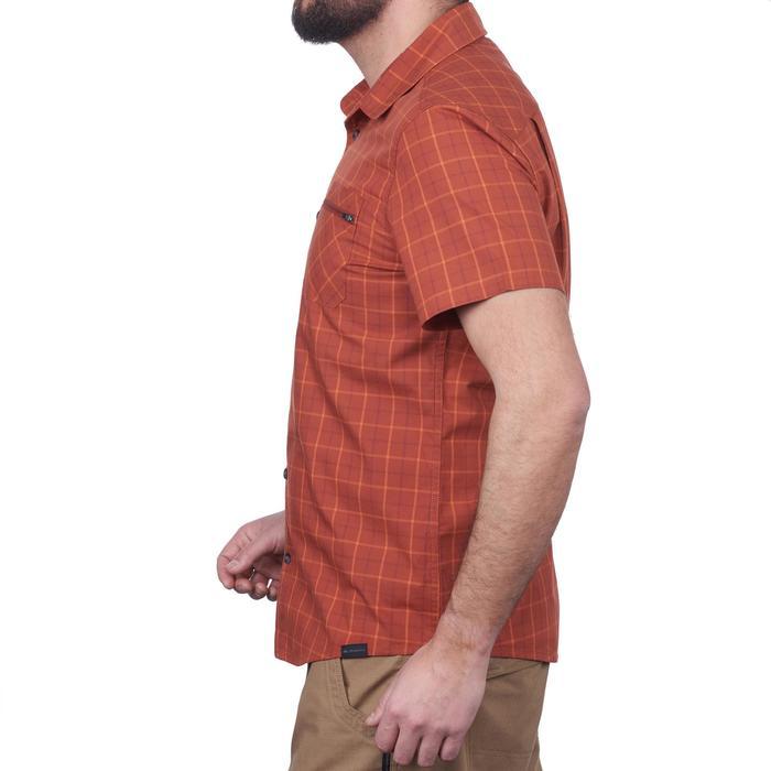 Chemise manches courtes TRAVEL 50 homme orange