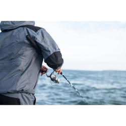 Veste de pêche 500 grise