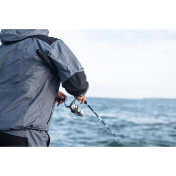 Veste pêche pluie-5 grey - 1344901
