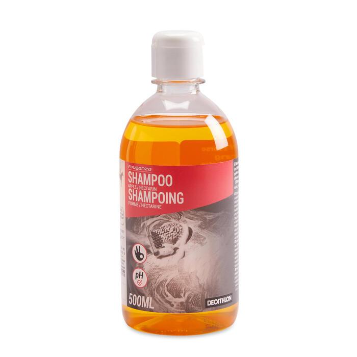 Shampoo voor paarden en pony's met nectarine/appel 500 ml