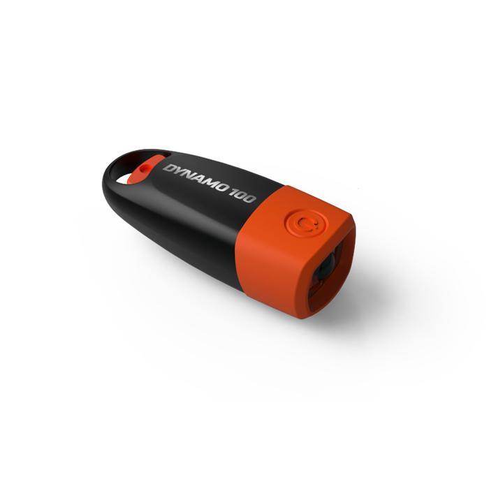 Taschenlampe Dynamo 100 15 Lumen orange