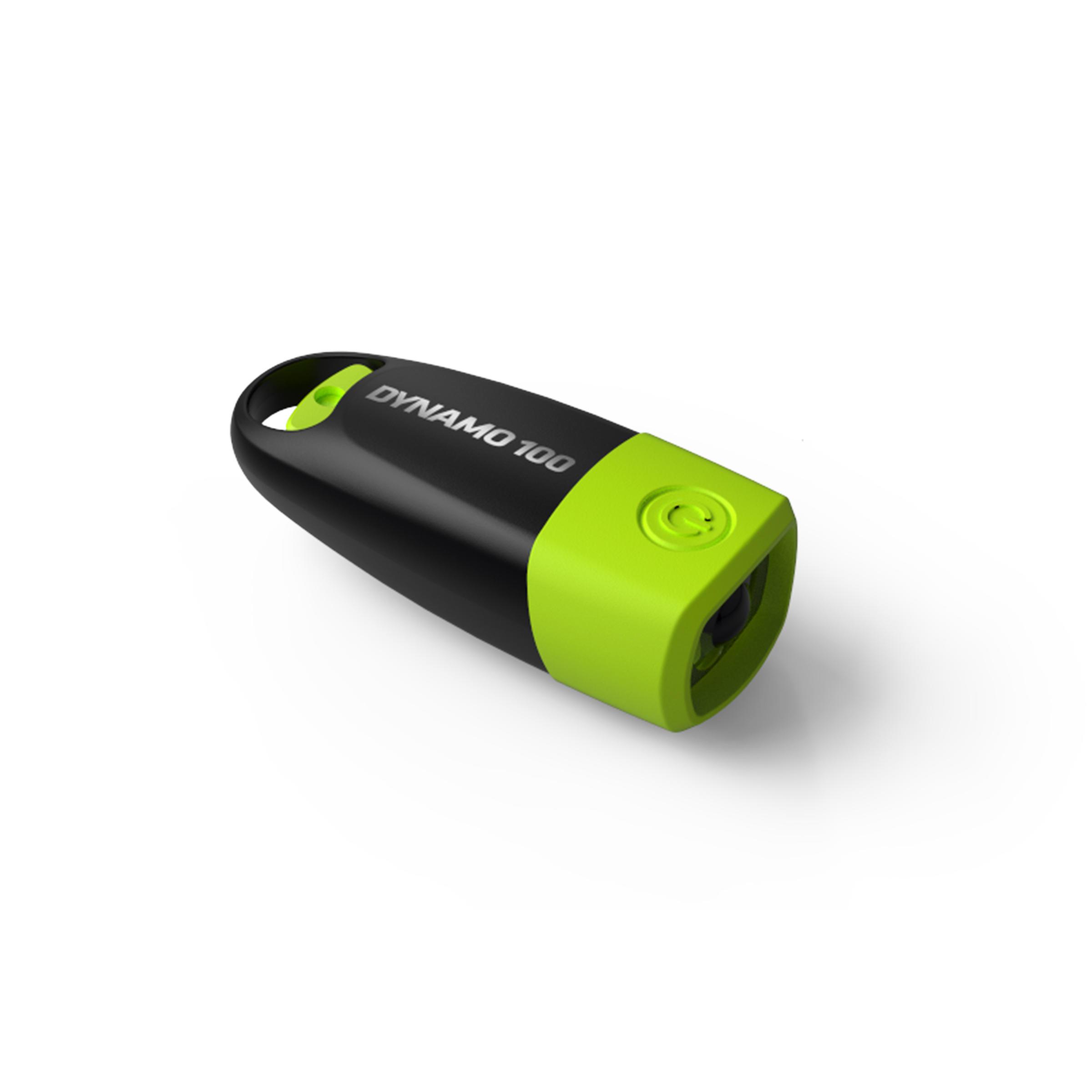 Linterna autónoma DYNAMO 100 verde - 15 lúmenes