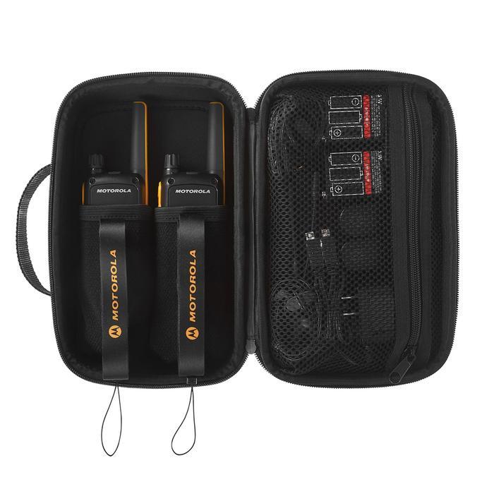 1 Paar walkietalkies MOTOROLA herlaadbaar met USB - T82 Extreme - 10 km