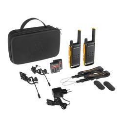Walkie-talkies MOTOROLA recarregáveis USB - T82 Extrême - 10km 1 Par - 2 Unid