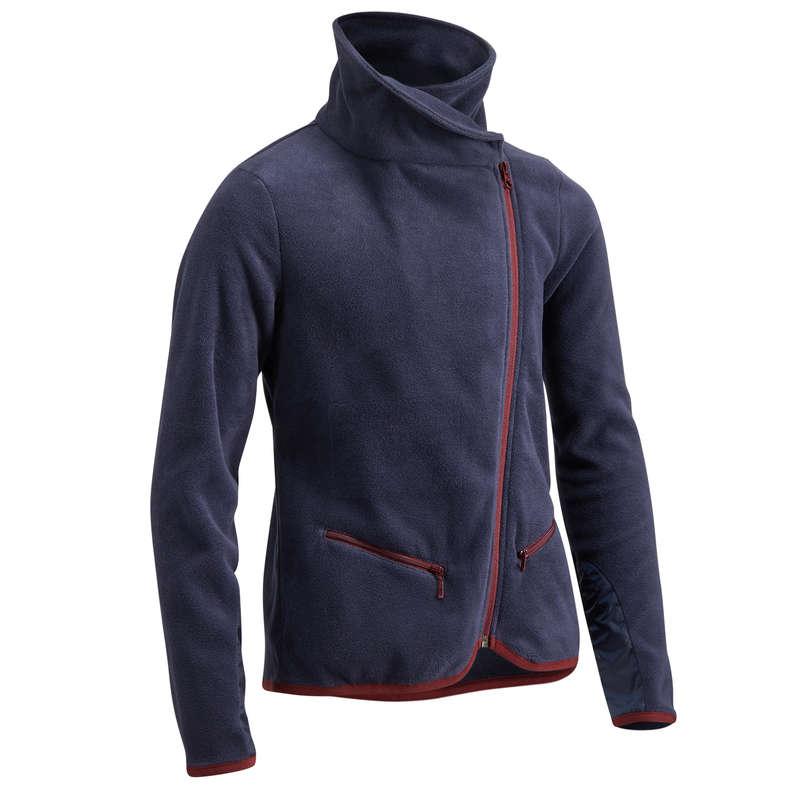 Gyerek téli ruházat Lovaglás - Lovas polárfelső 100-as FOUGANZA - Lovaglás - FOUGANZA
