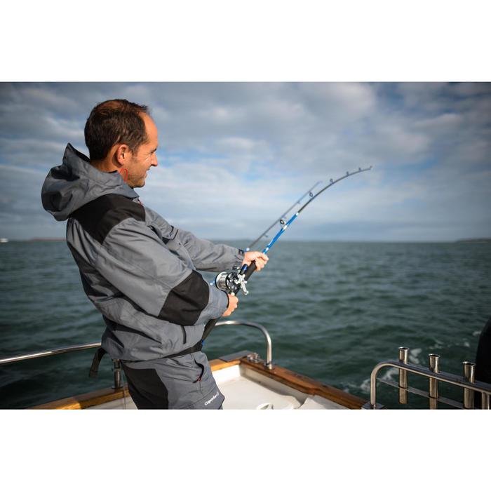 Veste pêche pluie-5 grey - 1345035