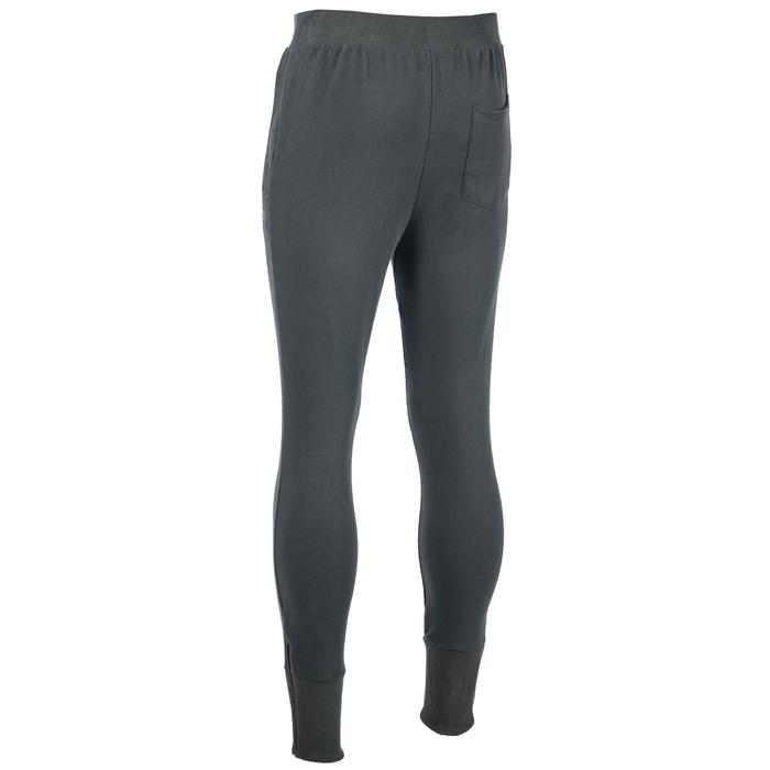 Pantalon 520 skinny Gym & Pilates homme kaki chiné