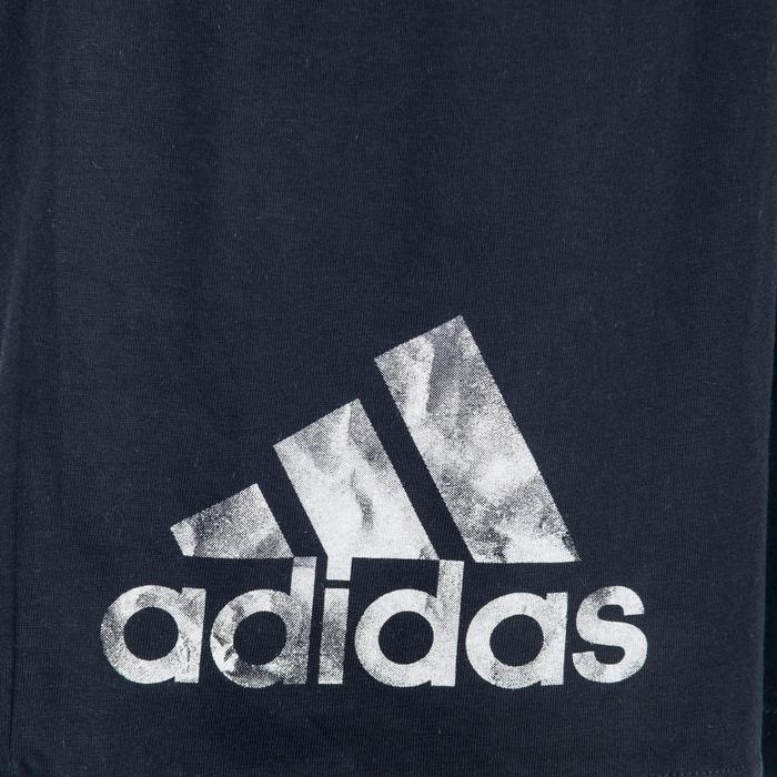 Herenshort Adidas voor gym en pilates grafisch logo
