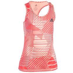 Camiseta sin mangas Fitness niña coral