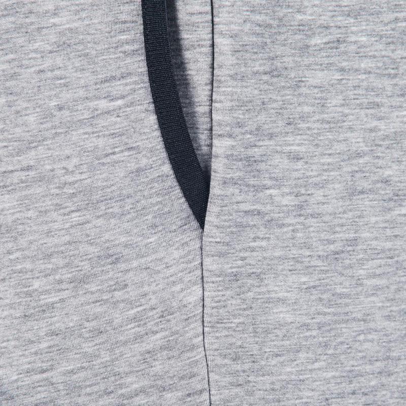 Pantalon 560 skinny Gym & Pilates homme gris chiné clair