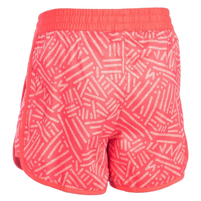 Short Fitness fille corail - 1345079