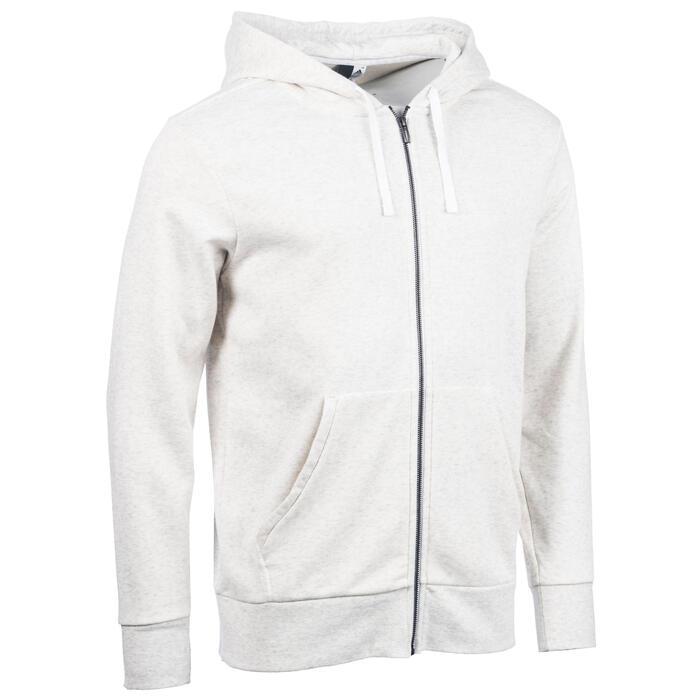 Veste ADIDAS Gym & Pilates capuche blanc - 1345092