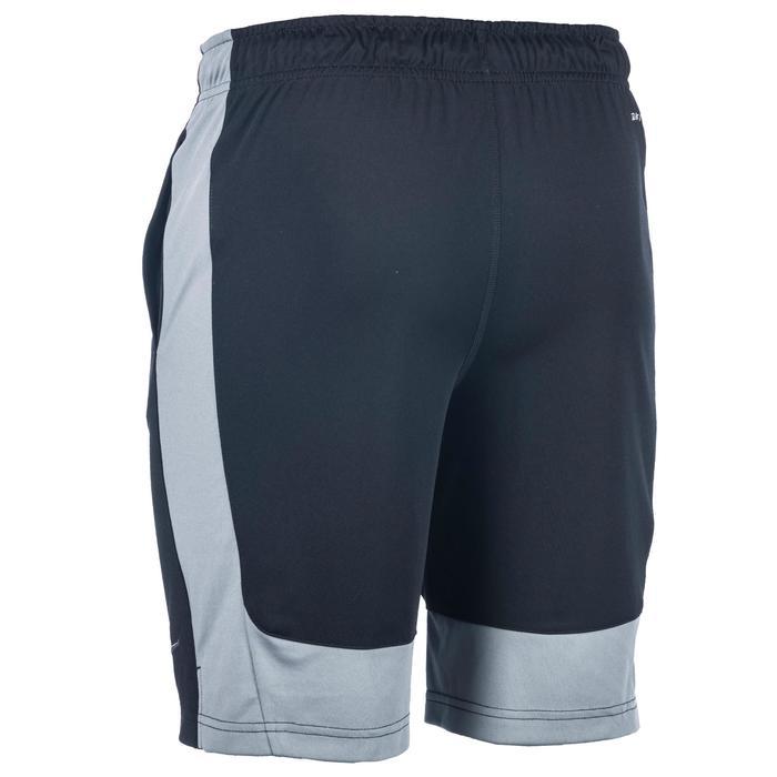 Short Fitness garçon gris