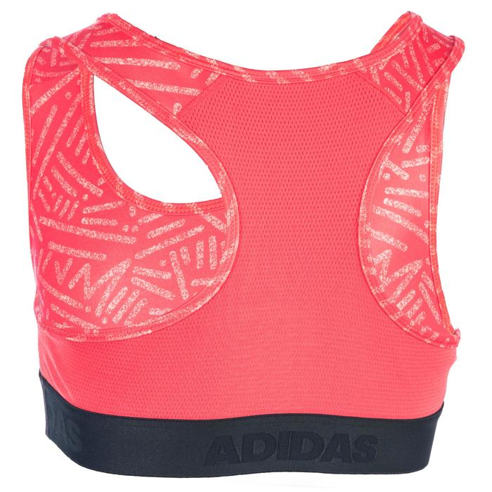 Brassière Fitness fille corail - 1345105