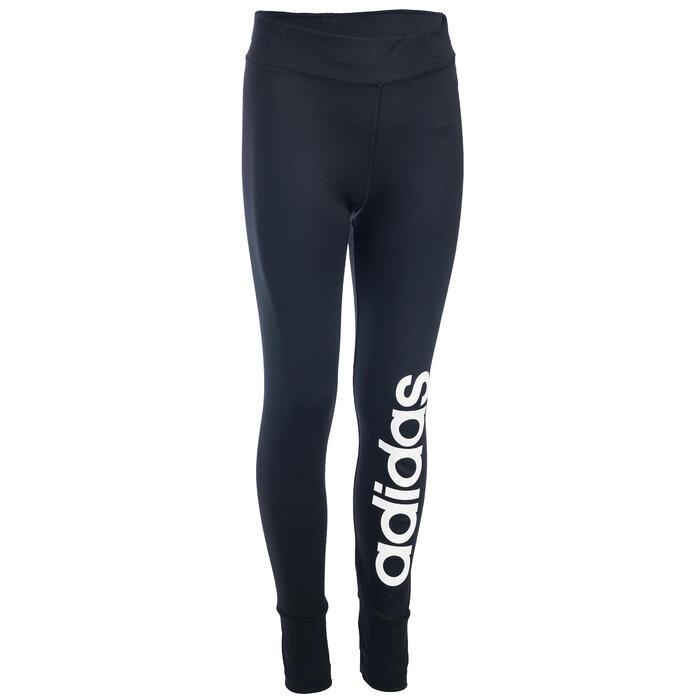 Legging Gym fille noir - 1345106