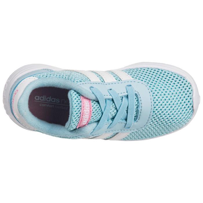 Chaussures gym bébé fille bleu blanc - 1345126