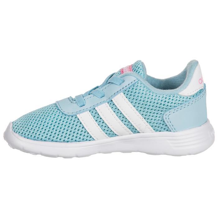 Chaussures gym bébé fille bleu blanc - 1345128