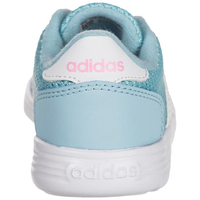 Chaussures gym bébé fille bleu blanc - 1345130