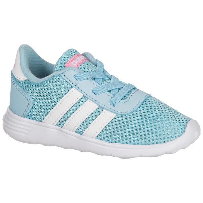Chaussures gym bébé fille bleu blanc - 1345131