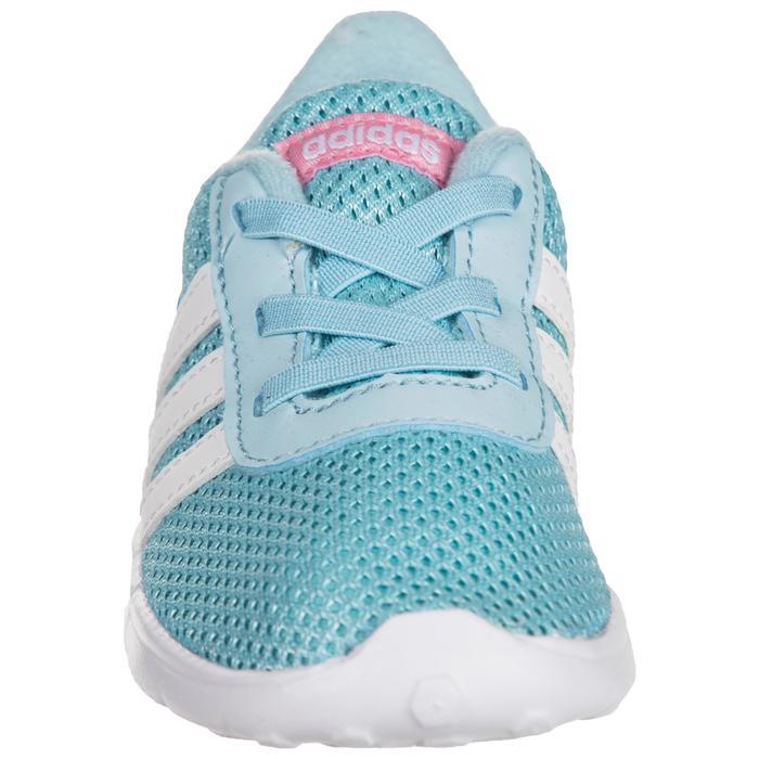 Chaussures gym bébé fille bleu blanc - 1345132