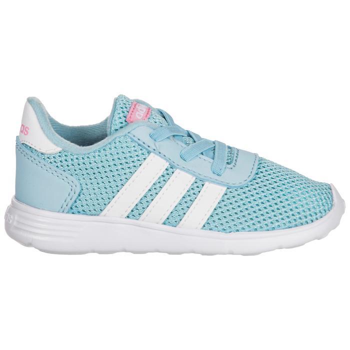 Chaussures gym bébé fille bleu blanc