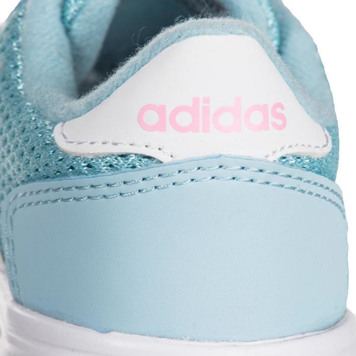 Chaussures gym bébé fille bleu blanc - 1345150