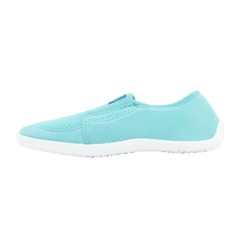รองเท้าเด็กสำหรับลุยน้ำรุ่น 120 (สีน้ำเงิน/เหลือง)