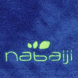 Toalla Baño Piscina Natación Nabaiji Azul Oscuro Ultra Suave Talla L