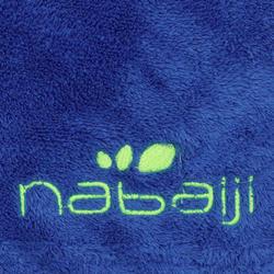 Soft Printed Microfibre Towel, L - Blue
