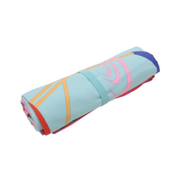印花微纖維毛巾,L/XL號-紅鶴