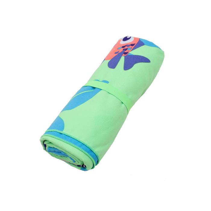 Printed Microfibre Towel, L/XL - Monkey