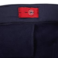 Warme rijbroek voor kinderen 100 marineblauw
