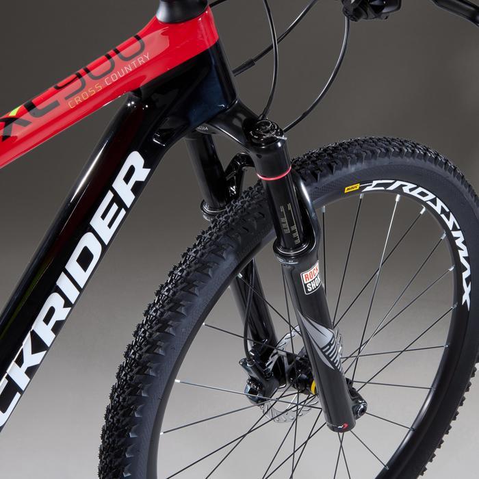 """VTT XC 900 27,5"""" CARBONE rouge et noir - 1345434"""