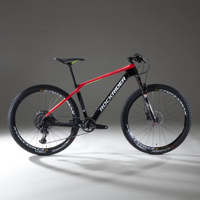 """MTB XC 900 27,5"""" carbon rood en zwart"""