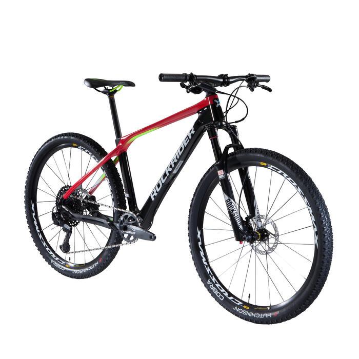 """VTT XC 900 27,5"""" CARBONE rouge et noir - 1345438"""