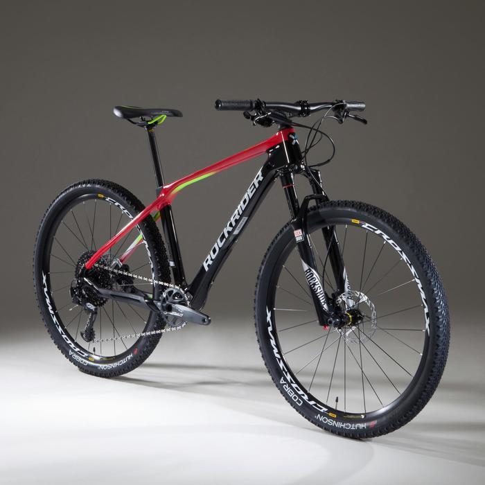 """VTT XC 900 27,5"""" CARBONE rouge et noir - 1345439"""