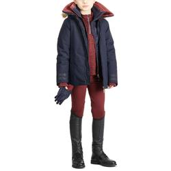 Winter-Reithose Accessy Kniebesatz Kinder bordeaux
