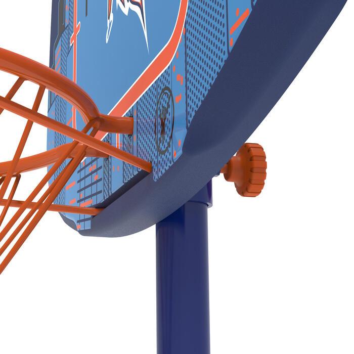 Panier de basketball enfant K500 vaisseau bleu. 1,30m à 1,60m. Jusqu'à 8 ans. - 1345475
