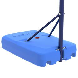 Basketbalpaal voor kinderen K500 blauw 1,30 tot 1,60 m. Tot 8 jaar.