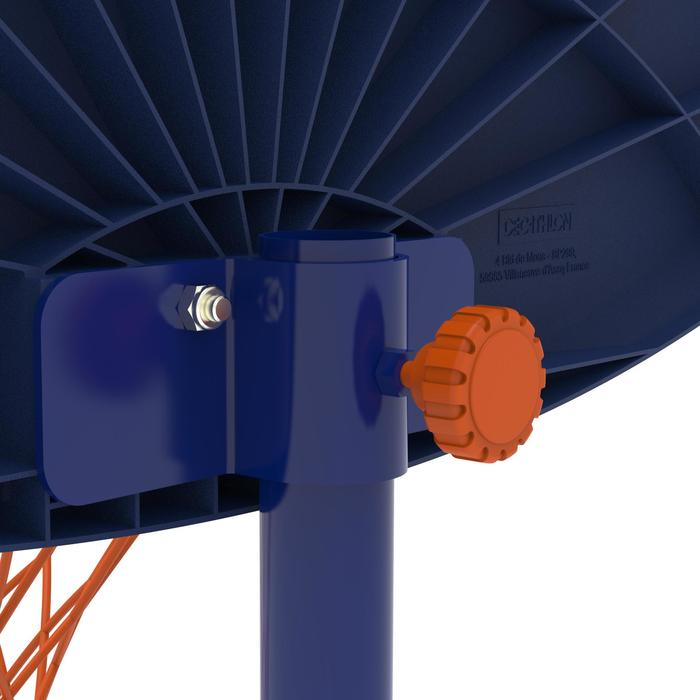 Panier de basketball enfant K500 vaisseau bleu. 1,30m à 1,60m. Jusqu'à 8 ans. - 1345479