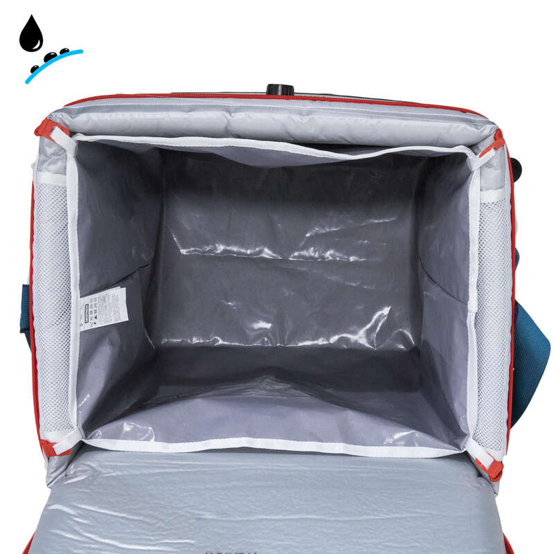 HIKING CAMP COOL BOXES Camping - Waterproof Bag - 35 L Cooler QUECHUA - Camping Cooking Equipment