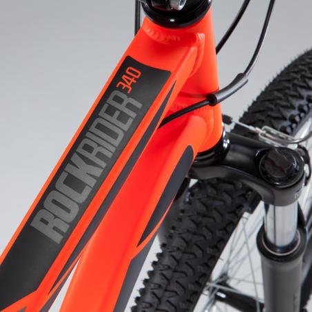 """Rockrider 340 26"""" MTB - Orange"""