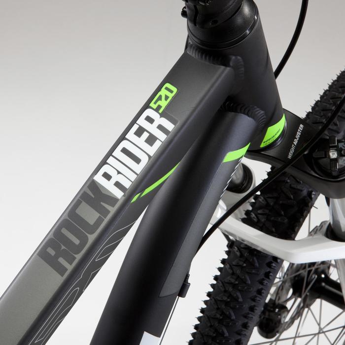 "Mountainbike MTB Rockrider 520 27,5"" grau"